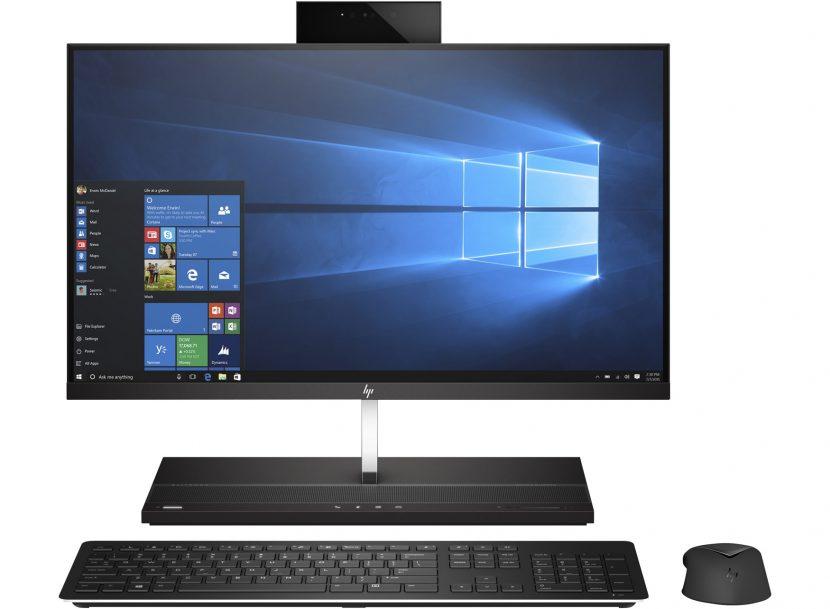 Produkt firmy HP to typowo biznesowy komputer All-in-One