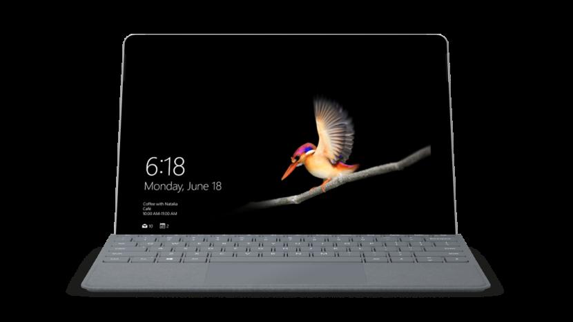 KomputerMicrosoft Surface Gowyposażony jest w ekran o przekątnej 10 cali oraz system operacyjny Windows 10 Home w trybie S